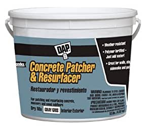 Amazon Com Dap Concrete Patch And Resurfacer Gray 10 Lb