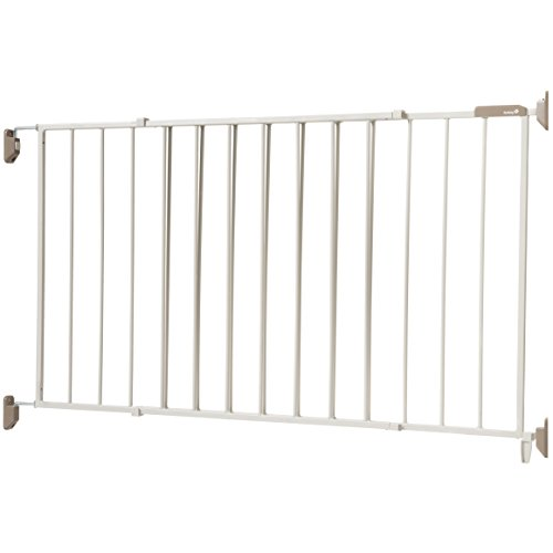 Safety 1st Wide & Sturdy Sliding Metal Gate, Fits Spaces Between 40'' and 64'' by Safety 1st