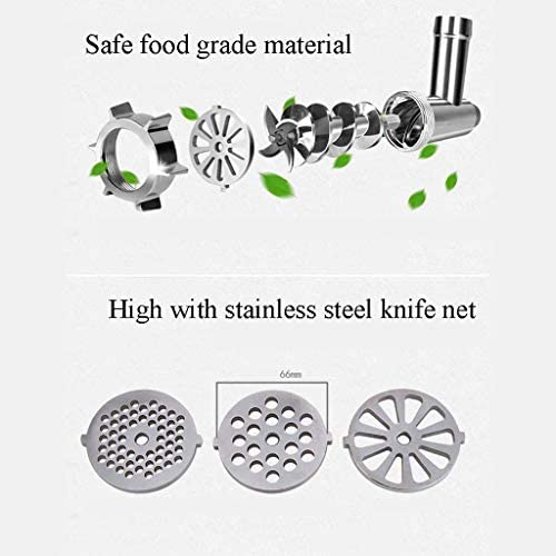 Elektrische Meat Grinder vleesmolen Sausage Grinder, roestvrij staal snijden Blade, roestvrij staal slijpen platen, veiligheidsmateriaal milieu en gezondheid xiao1230