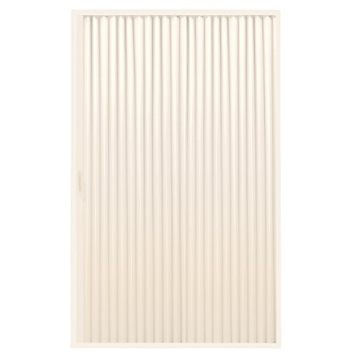 "RecPro RV Shower Doors | RV Pleated Folding Shower Doors (Ivory) 48""x 67"" 
