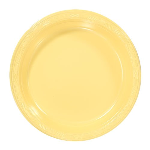 Hanna K. Signature Collection 50 Count Plastic Plate, 9-Inch, -