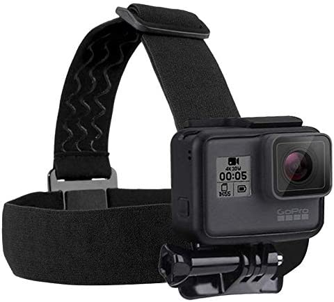 PULUZ Elastic Mount Belt Adjustable Head Strap for GoPro HERO6 / 5/5 Session /4 Session /4/3+ /3/2 /1, Xiaoyi and Other Action Cameras