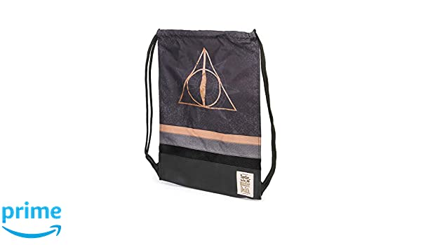 Multicolour Karactermania Harry Potter Deathly Hallows-Storm Turnbeutel Bolsa de Cuerdas para el Gimnasio 48 Centimeters