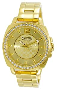Coach Women's Boyfriend Watch - Gold tone