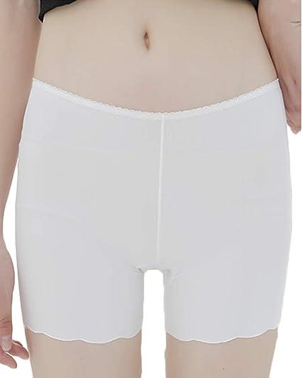 Debajo De Los Pantalones Cortos De Seguridad, Pantalones Cortos para Mujer Ropa Interior De Algodón Anti Rozaduras: Amazon.es: Ropa y accesorios