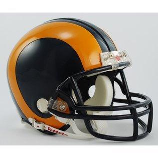 Riddell St. Louis Rams/Los Angeles Rams Mini Throwback Helmet
