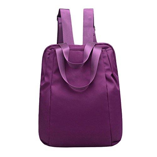 Bolso Impermeable Del Recorrido Del Bolso Del Bolso De Hombro De Las Señoras Se Divierte El Bolso De Los Deportes Purple