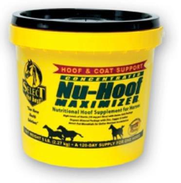 NU-HOOF MAXIMIZER HOOF & COAT SUPPORT FOR HORSES - 10 POUND by DavesPestDefense