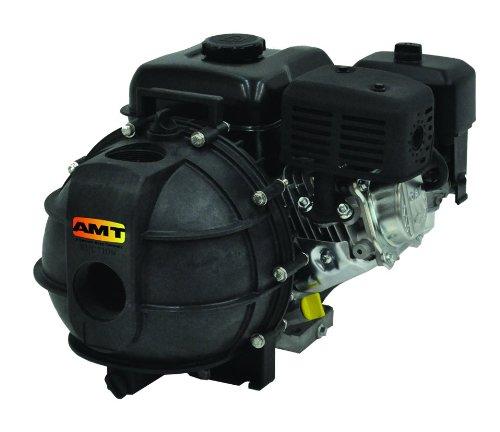 Honda Dewatering Pump - AMT Pump 3824-99 Engine Driven AG/Dewatering Pump with Briggs & Stratton Engine, Polypropylene, 4 HP, Curve A, 2