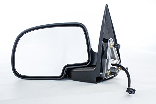 - Left Driver Side Mirror for Chevy Avalanche Silverado GMC Sierra 1500 2500 (1999 2000 2001 2002) Chrome Non-Heated Folding Outside Rear View Door Mirror