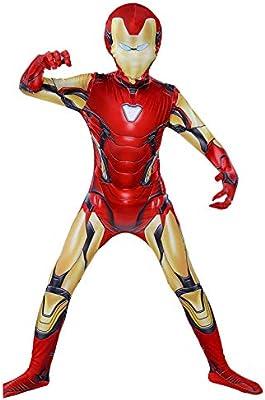 KYOKIM NiñO Adulto Iron Man Ropa Cosplay Vestido Superhéroe ...