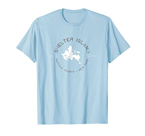 Shelter Island New York Graphic Vintage Retro T Shirt