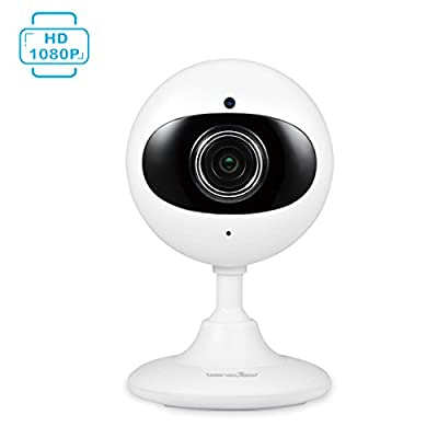 Wansview 1080P Wireless IP Camera, WiFi Home Security Indoor Camera for Baby /Elder/ Pet/Nanny Monitor with Night Vision and Two-way Audio by Wansview