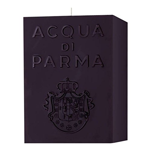 Acqua di Parma Large Cube Candle - Amber Black 1000g - Pack of 2