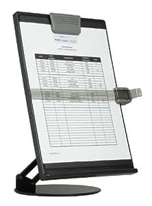 DAC EH17006 - Soporte de documentos para mesa (ajustable, para documentos tamaño A4, superficie antireflejo, antiestática y no magnética)