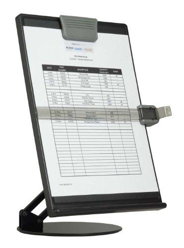 DAC EH-17006-BLK Euroholder Desktop Adjustable Copyholder, Black ()