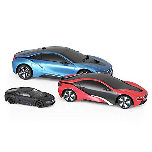 DSJSP Remote Control Car Toy Model Car Set Gift Combination Black Red Blue from DSJSP