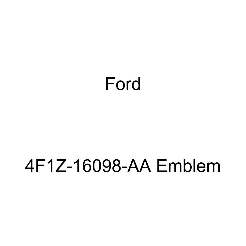 Genuine Ford 4F1Z-16098-AA Emblem