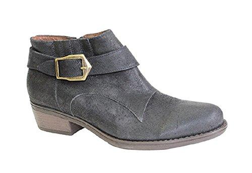 Eric Michael Womens Clover Ankle Boot (37, Black Oil)