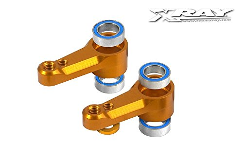 (XRAY Aluminum Dual Servo Saver Arm Set w/Ball-Bearings (2))