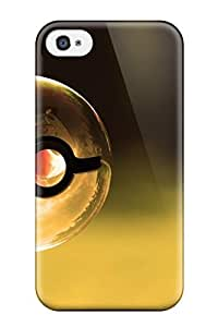 Iphone Case - Tpu Case Protective For Iphone 4/4s- Pokemon Ball