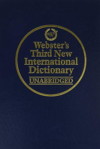 Webster's Third New International Dictionary of the English - Mills Colorado Outlet