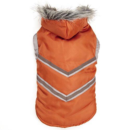 Zack & Zoey Elements Arc Reflective Coat, XX-Large, Orange
