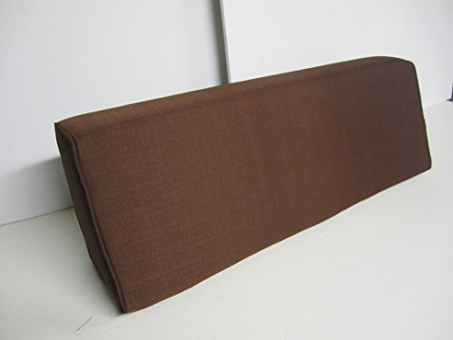 Wedge Bolster Cover (Linen-Chocolate)