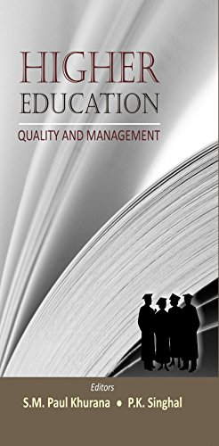 Higher Education: Quality and Management