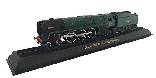 BR '7MT' 4-6-2 No. 70000 Britannia - 1951 Diecast 1:76 Scale Locomotive Model (Amercom OO-32) by Unknown