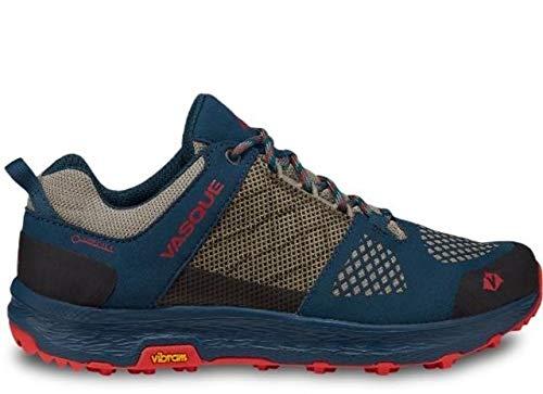 Vasque Women's Breeze LT Low GTX Hiking Shoe (8, Majolica Blue/Red Clay) by Vasque