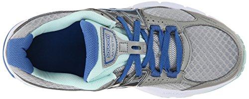 Saucony - Zapatillas de running para mujer Grey/Blue/Aqua