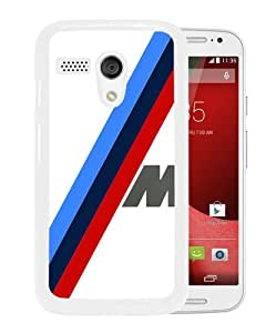 Bmw M Sport White Fantastic Unique Cusstomized Motorola Moto G Case