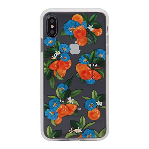 iPhone Xs Max Case, Sonix Tangerine Dream (Oranges) [Military Drop Test Certified] Womens Protective Clear Case Series for Apple iPhone Xs Max