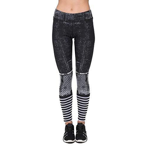 De Mujer Leggings Biran Cintura Estiramiento Chándal Las Elástico Raster Delgados Alta Yoga La Mujeres Impresión Único Fitness Pantalones FxnPxfzr5