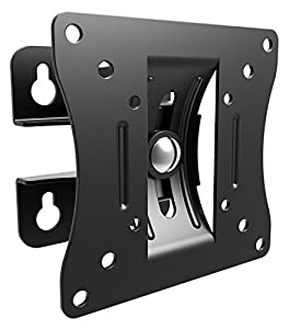 RICOO Monitor Mount Tilt Swivel S0711 Wall Bracket Universal LED Curved QLED QE LCD OLED SUHD UHD TFT Office Adjustable Arm Mounting System 13″ – 27″ Inch VESA 75×75 100×100 – Good wall mount. Easy to fit