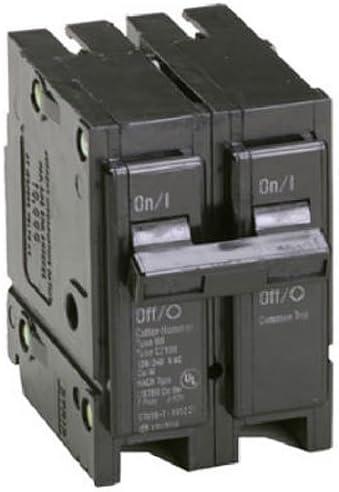Eaton Corporation Br2100 Double Pole Interchangeable Circuit Breaker, 120 240V, 100-Amp