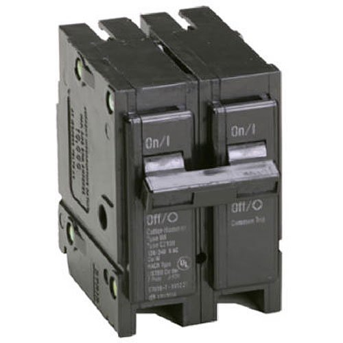 Eaton Corporation Br2125 Double Pole Interchangeable Circuit Breaker, 120/240V, 125-Amp