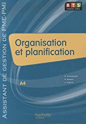 Organisation et planification BTS Première année : Assistant de gestion de PME-PMI