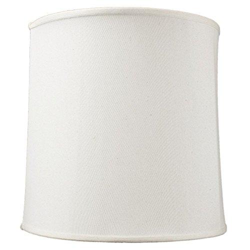 """Home Concept Inc 15"""" Premium Linen Fabric Drum Lamp Shade"""