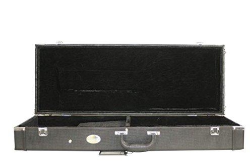 Kala Acoustic U-Bass Rectangular Hard Case Black with Plush Interior