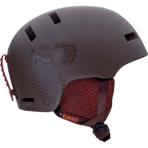 Shiv Snow (Giro Shiv Snow Helmet, Matte Brown Low, Small)