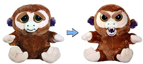 - William Mark Feisty Pets Grandmaster Funk Adorable Plush Stuffed Monkey that Turns Feisty with a Squeeze