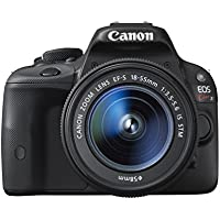 Canon DSLR camera EOS Kiss X7 with EF-S18-55mm IS STM - International Version (No Warranty)