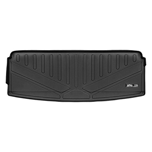 SMARTLINER All Weather Cargo Liner Floor Mat Behind 3rd Row Black for 2018 Ford Expedition (No Max Models)