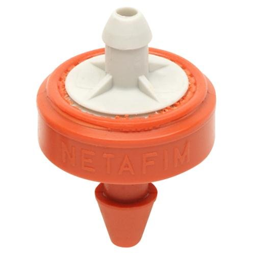 Netafim 6.6 GPH Orange/Grey Woodpecker Pressure Compensating Junior Dripper (Case of 250) by Netafim
