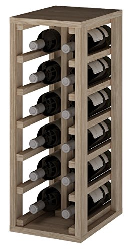 expovinalia Er2010 Wine Rack for 12 Bottles of Wine or Champagne, Wood, Oak ()