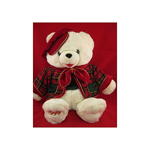 Plush Teddy Bear 1999 Snowflake Teddy 22