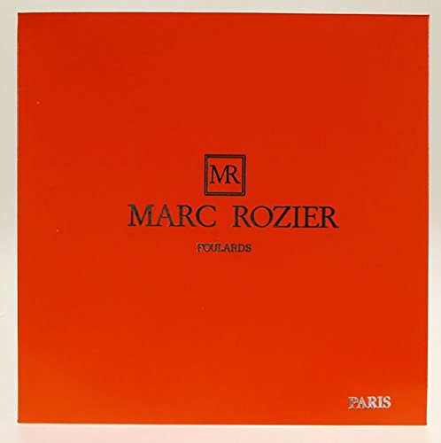 Marc Rozier - Foulard mousseline de soie Fleurs vert