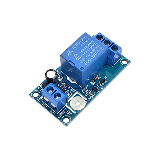HUIMAI 12V 1-Channel Touch Relay Module Capacitive Touch Switch For Arduino TTP223